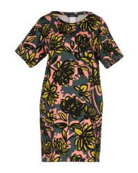 Weekend by Maxmara - Green Short Dress - Lyst