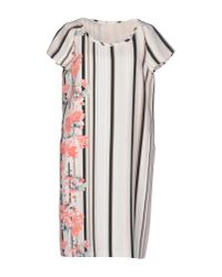 Weekend by Maxmara - White Knee-length Dress - Lyst