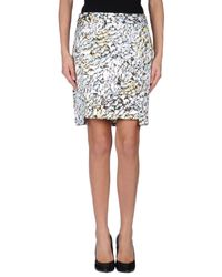 Lala Berlin - Blue Mini Skirt - Lyst