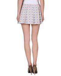 Paul & Joe - White Mini Skirt - Lyst
