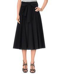 ESCADA - Black 3/4 Length Skirt - Lyst