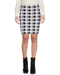 Theory | White Mini Skirt | Lyst