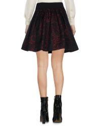 ViCOLO - Black Mini Skirt - Lyst