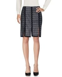 Etro | Blue Knee Length Skirt | Lyst