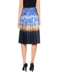 Altuzarra - Blue 3/4 Length Skirt - Lyst