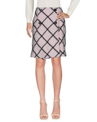 Dior - Pink Knee Length Skirt - Lyst