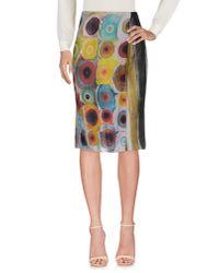 Maliparmi - Purple 3/4 Length Skirt - Lyst