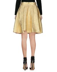 Tara Jarmon - Metallic Knee Length Skirt - Lyst