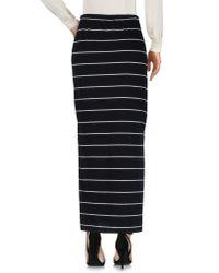 ONLY - Black Long Skirt - Lyst