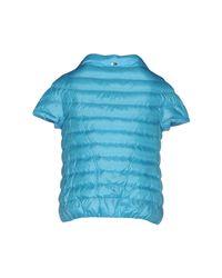 Herno - Blue Down Jacket - Lyst