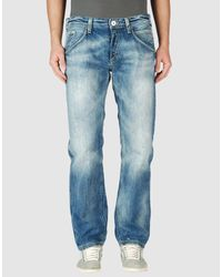 Meltin' Pot - Blue Denim Pants for Men - Lyst
