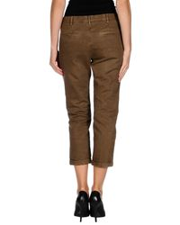 Pence - Brown 3/4-length Short - Lyst