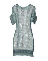 Pinko - Green Sweater - Lyst