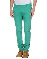 Jcolor - Green Casual Trouser for Men - Lyst