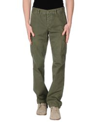 Aspesi - Green Casual Pants for Men - Lyst