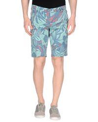 Jaggy - Blue Bermuda Shorts for Men - Lyst