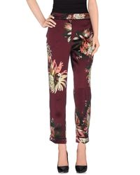 Erdem | Purple Casual Pants | Lyst