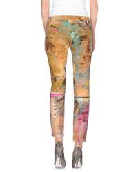 Just Cavalli - Multicolor Casual Pants - Lyst