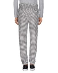 Mauro Grifoni - Gray Casual Trouser for Men - Lyst