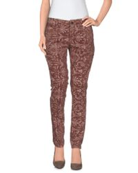 TRUE NYC - Multicolor Casual Pants - Lyst