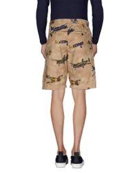 Franklin & Marshall - Natural Bermuda Shorts for Men - Lyst