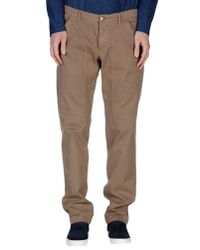 Jeckerson | Natural Casual Pants for Men | Lyst