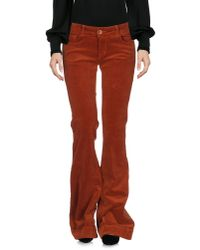 J Brand - Brown Casual Pants - Lyst