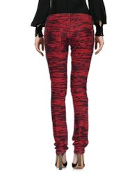 Étoile Isabel Marant - Red Casual Pants - Lyst