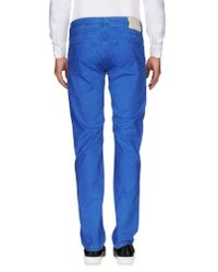 Re-hash - Blue Casual Trouser for Men - Lyst