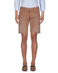 2W2M | Brown Bermuda Shorts for Men | Lyst