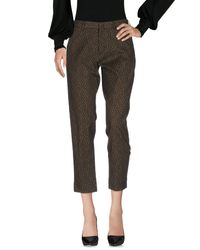 PT01 - Green Casual Pants - Lyst