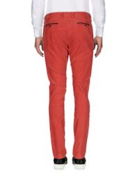 AT.P.CO - Black Casual Pants for Men - Lyst