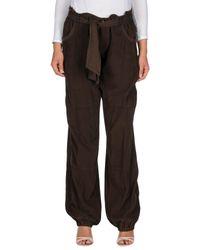 Liu Jo | Brown Casual Pants | Lyst
