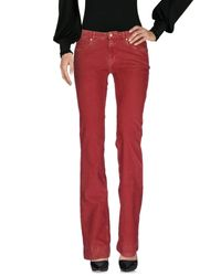 Love Moschino - Blue Casual Trouser - Lyst