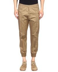 DSquared² | Natural Casual Pants for Men | Lyst