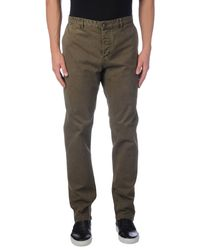 Fred Mello - Green Casual Trouser for Men - Lyst