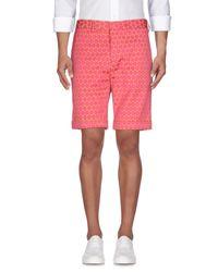 Brian Dales - Pink Bermuda Shorts for Men - Lyst