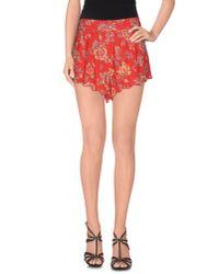 Billabong   Red Shorts   Lyst