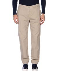 Care Label | Natural Denim Trousers for Men | Lyst
