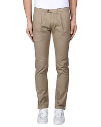 Department 5 - Natural Casual Pants for Men - Lyst