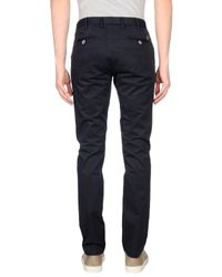 AT.P.CO - Blue Casual Pants for Men - Lyst