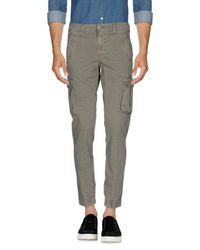Squad² - Gray Casual Trouser for Men - Lyst