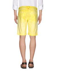 Jaggy - Yellow Bermuda for Men - Lyst