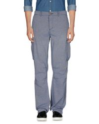 Scotch & Soda | Blue Casual Pants for Men | Lyst