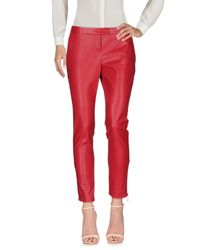 Liu Jo - Red Casual Trouser - Lyst