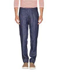 Eleventy | Blue Denim Pants for Men | Lyst