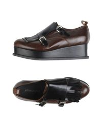 Jeffrey Campbell - Brown Loafer - Lyst