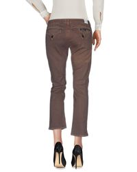 Hudson - Gray Casual Trouser - Lyst