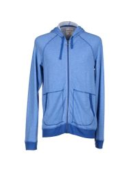 Splendid | Blue Sweatshirt for Men | Lyst