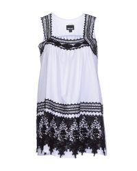 Just Cavalli - White Top - Lyst